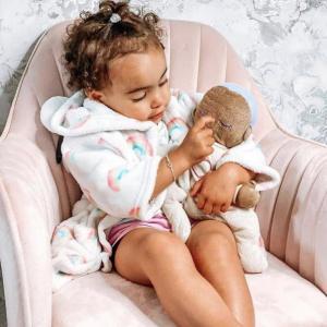 Η πιο γλυκιά σύντροφος για τον ύπνο Μωβ Lulla Dolls
