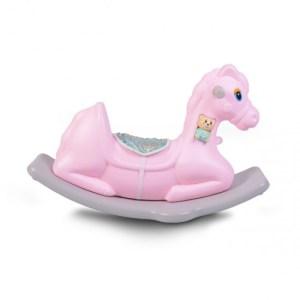 Κουνιστό Αλογάκι Πλαστικό Napoleon Pink Moni