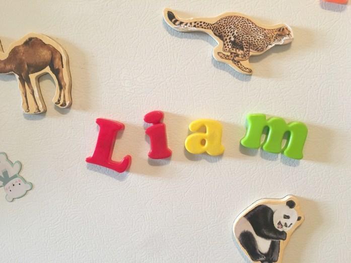 teaching your child to write their name