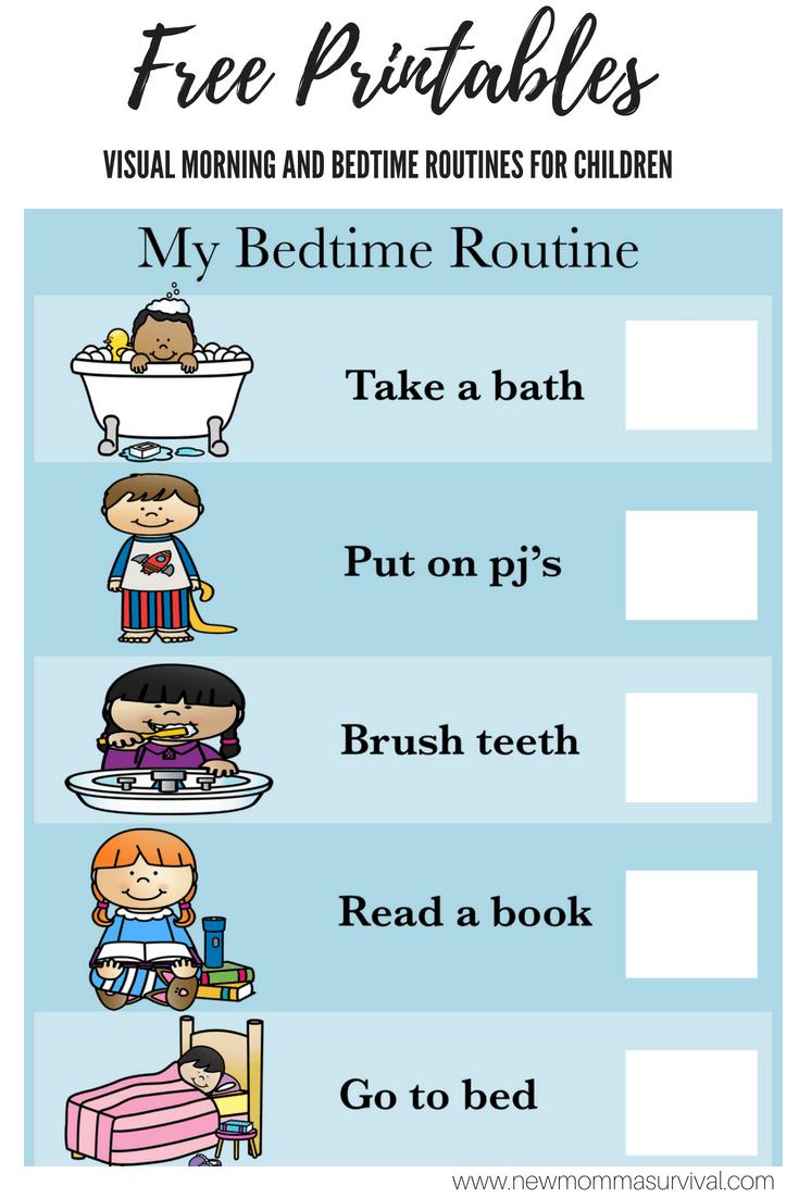 Visual Schedule for Children