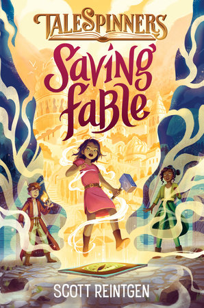 Book cover image for Saving Fable by Scott Reintgen