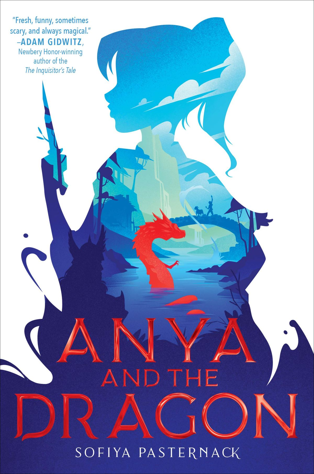 Book cover image for Anya and the Dragon by Sofiya Pasternack
