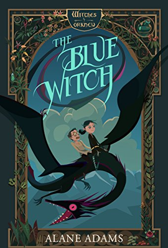 Book cover image for The Blue Witch by Alane Adams