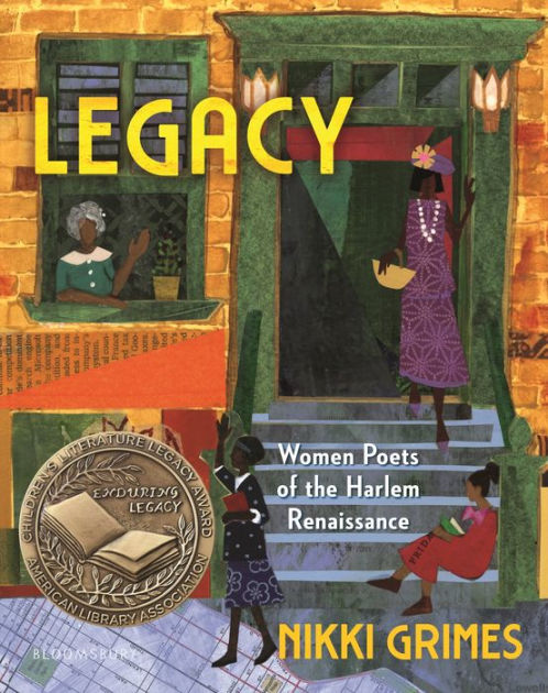 Book cover image for Legacy: Women Poets of the Harlem Renaissance by Nikki Grimes
