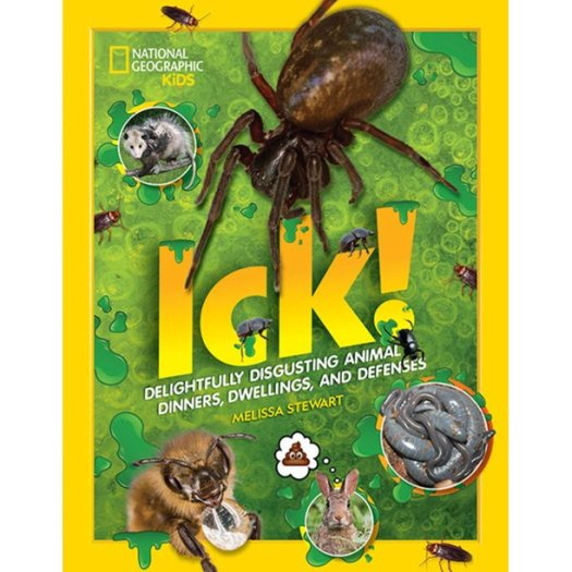 Book cover image for Ick! Delightfully disgusting animal dinners, dwellings, and defenses by Melissa Stewart