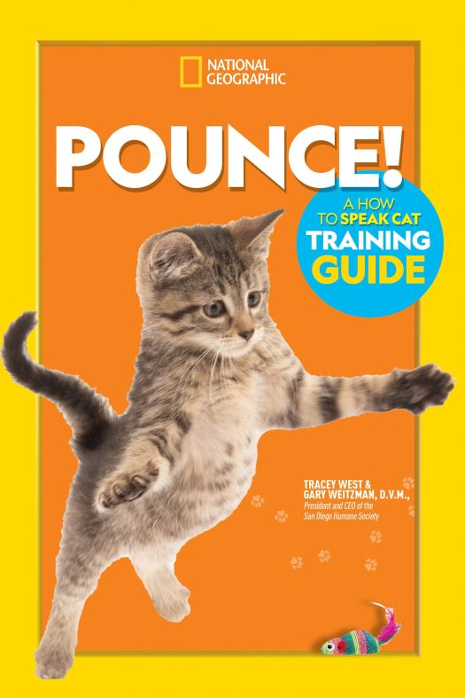 Book cover image for Pounce! A How to Speak Cat Training Guide by Tracey West and Gary Weitzman