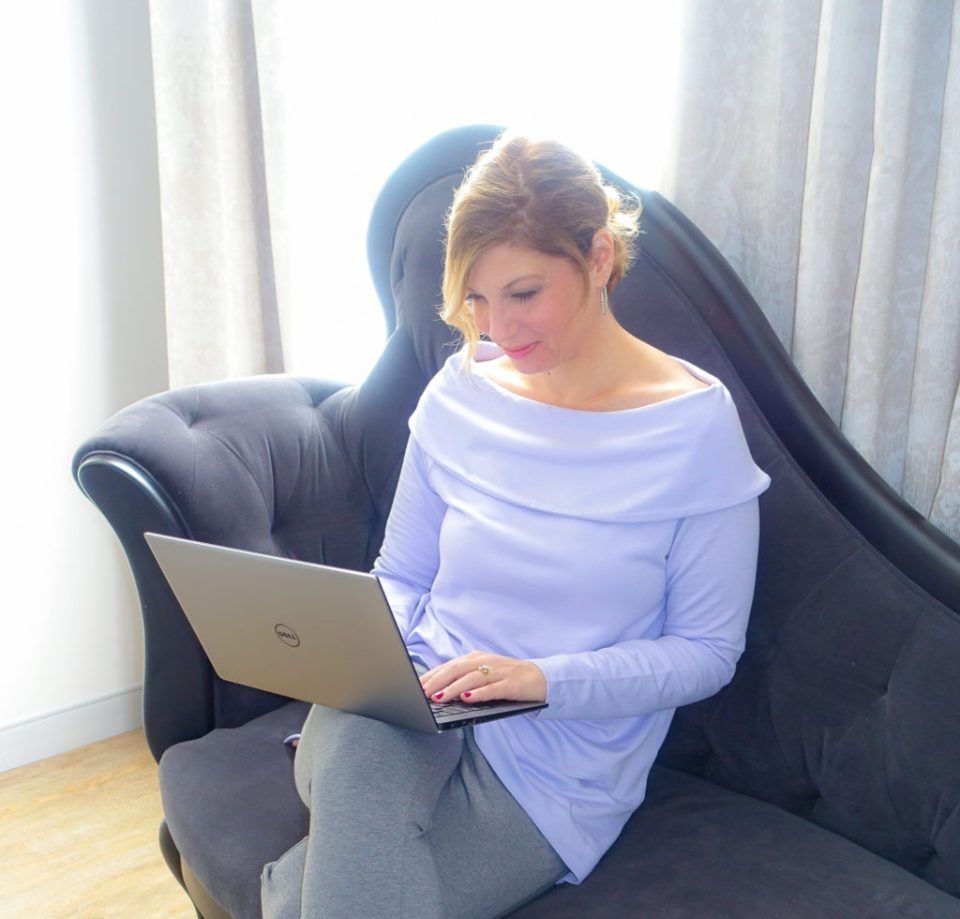 Working from home by The New Moon Workshop