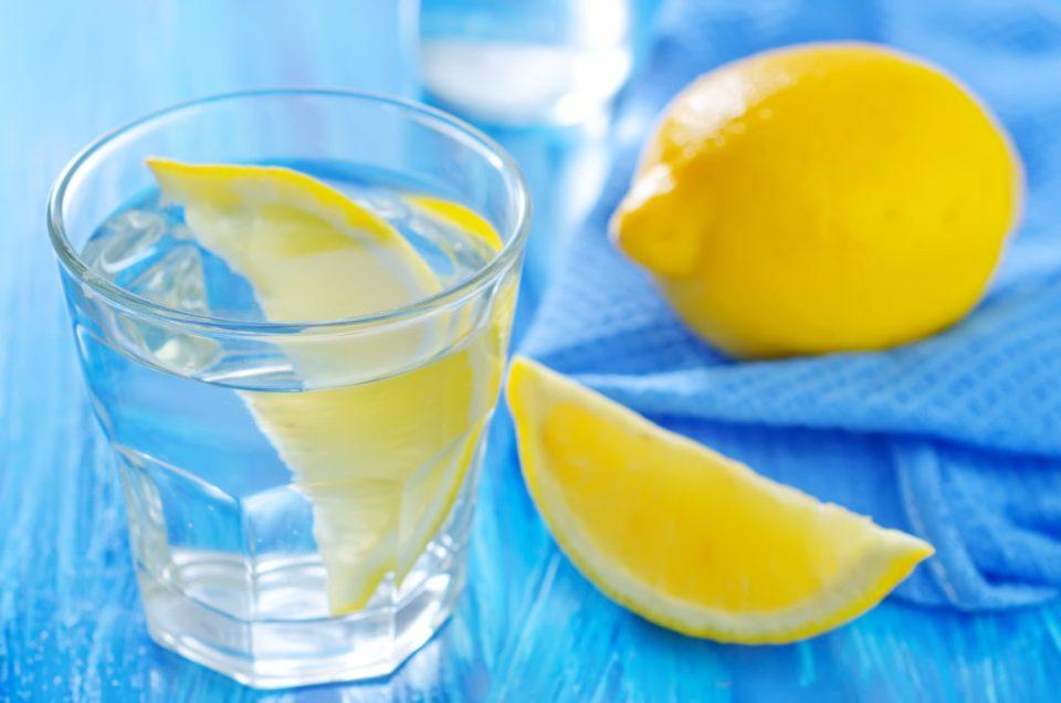 Detox Cleanse lemon water