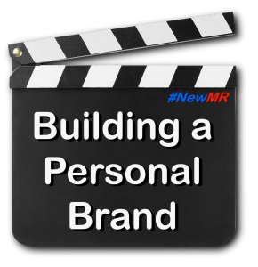 Clapper Board with Building a Personal Brand as its message
