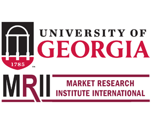Sponsorship booth logo of MRII University of Georgia