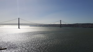 Picture of a bridge in Lisbon