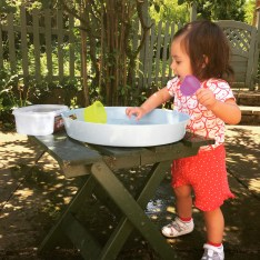 Makeshift water play!