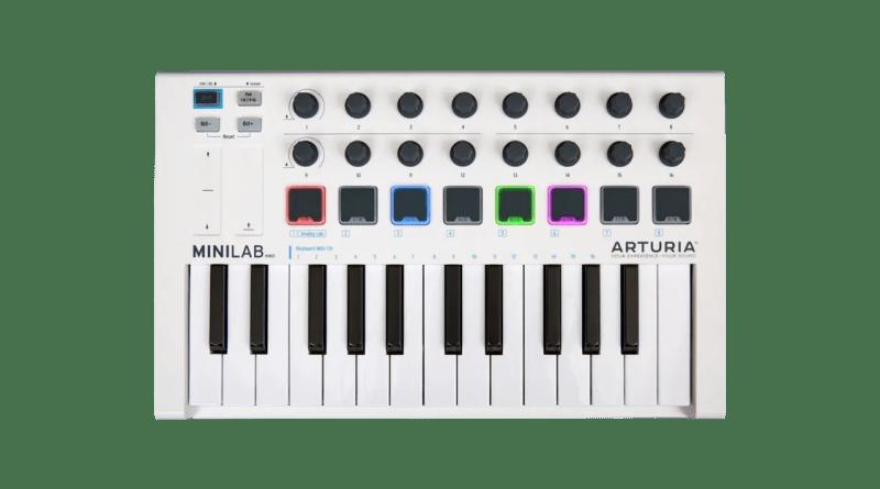 Arturia Minilab MkII recensione