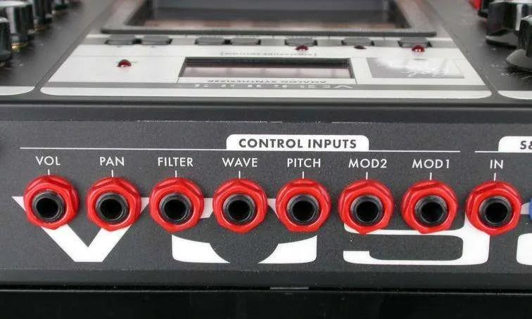 Moog Voyager - Gli ingressi per le tensioni di controllo