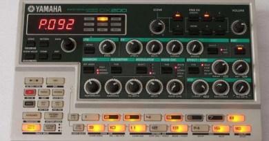Yamaha DX200 AN200 recensione