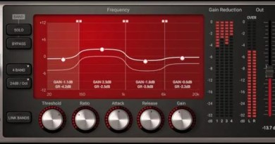 IK Multimedia Quad Compressor per T-RackS