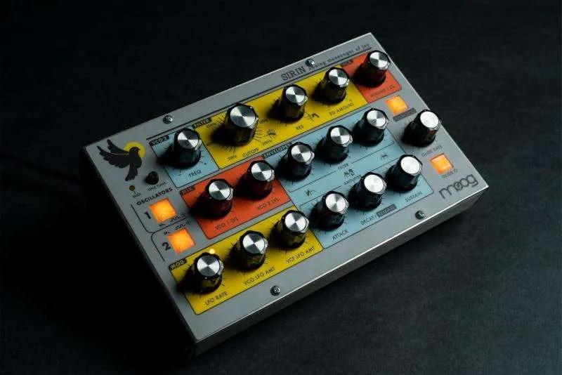 Moog Sirin, il Minitaur colorato che non fa solo bassi