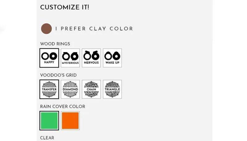Peopeo Voodoo Boombox - Le possibilità di personalizzazione