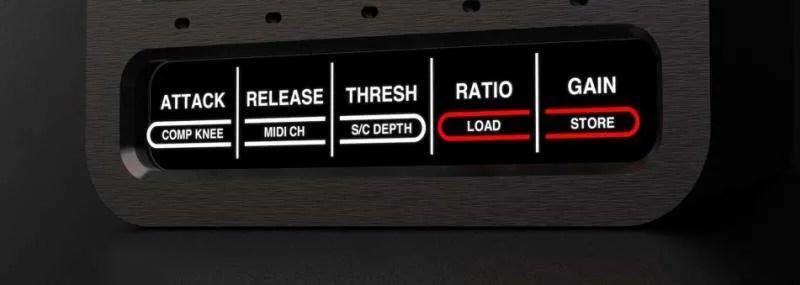SuonoBuono nABC - I pulsanti di accesso ai parametri