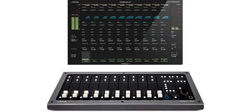 Softube Console-1-Fader-OSD
