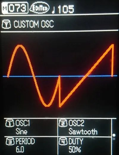 Sonicware ELZ_1 - Custom Oscillator