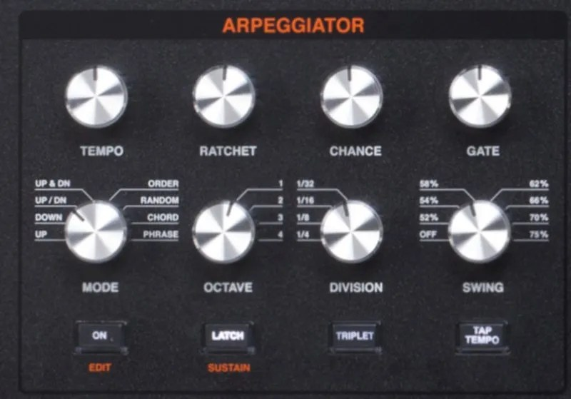 ASM Hydrasynth Key - Arpeggiator