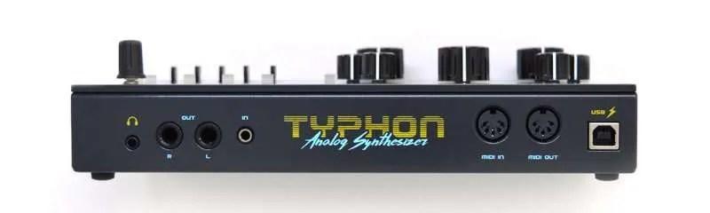 DreadBox Typhon back panel