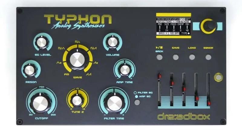 Dreadbox Typhoon front panel