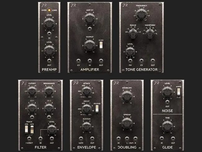 Softube Model 72 - i singoli moduli per uso in Softube Modular