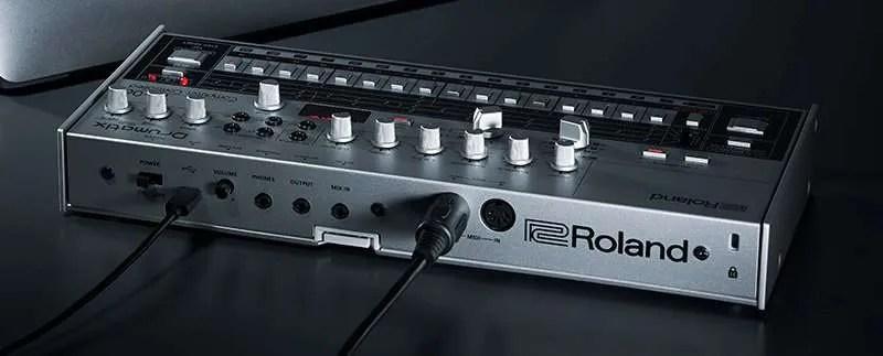 Roland TR-06 - Il pannello posteriore
