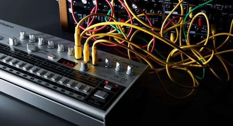 Roland TR-06 - L'uso dei Trigger In e Out in abbinamento ai modulari