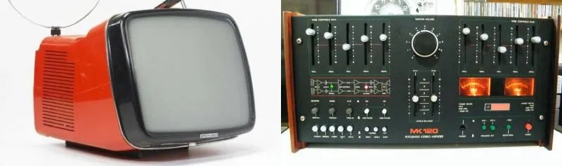 TV Brionvega e Galactron MK120