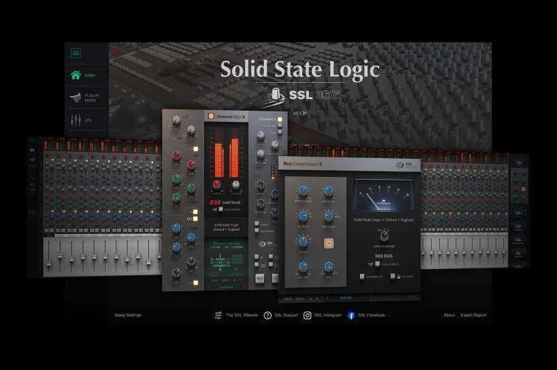 SSL UC1 - SSL 360, SSL Plug-in Mixer, SSL Native Plug-ins