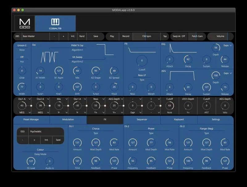 Modal COBALT8 - Modal App