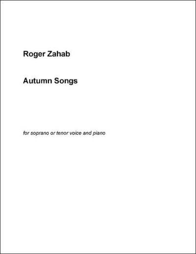 Zahab Autumn Songs Z57-V1997-2
