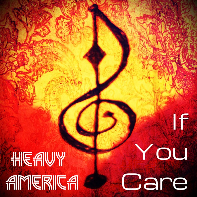 The mighty 'Heavy AmericA' deliver a dreamy psychedelic rock sound that mesmerises in a 'Sabbath' meets 'Woodstock' way on riffing new single 'If You Care'