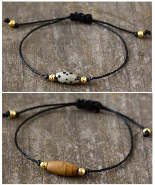 bracelet jaspe dalmatien jaspe mokaite