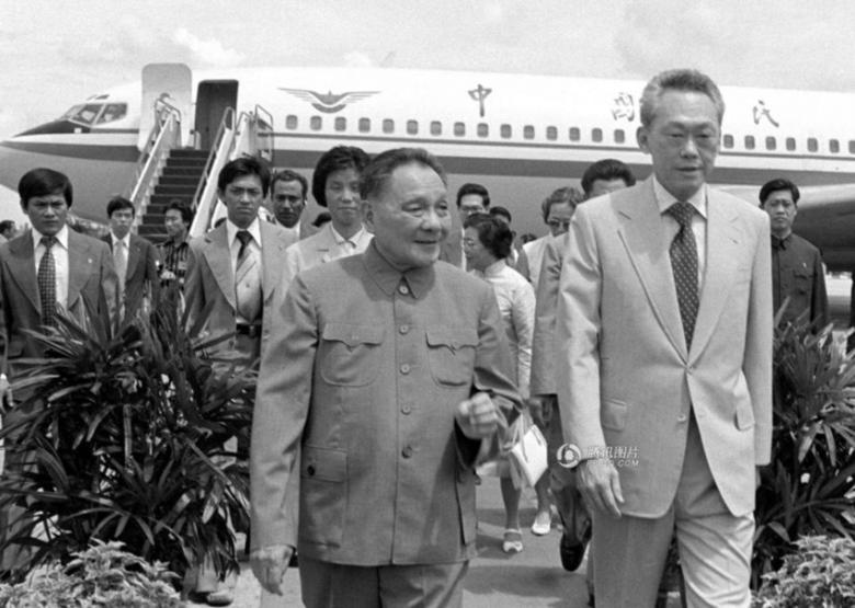Deng-Xiaoping-Meets-Lee-Kuan-Yew-in-Singapore - New Naratif