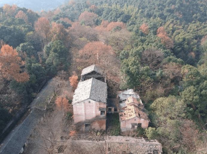Aerial photograph of the 691 old buildings (photographed by Zhao Siyi) - New Naratif