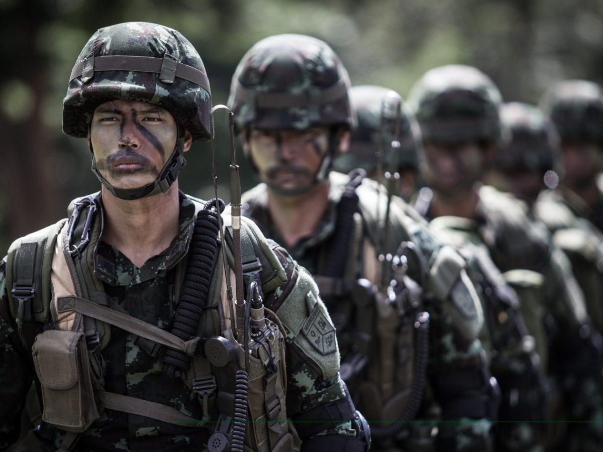 Thai military - New Naratif