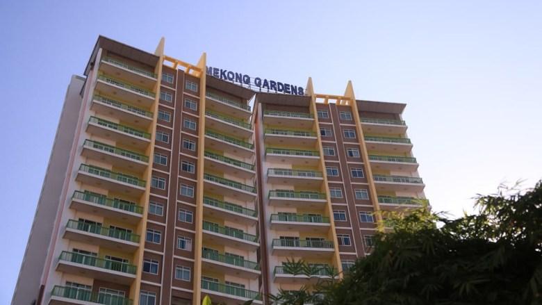 The Mekong Gardens condominiums in Phnom Penh's Chroy Changva District on 9 December 2020.