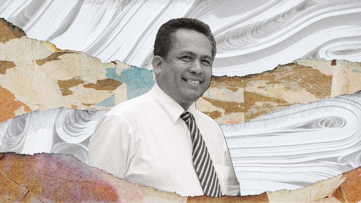 Collage portrait of Kem Ley