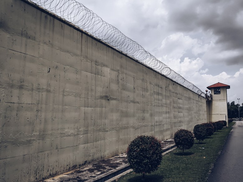 Kajang Prison, one of Malaysia's largest prisons, held nearly 20% of the nation's death row population as of 2019, according to Amnesty International. Muhamad Syarafi/Shutterstock