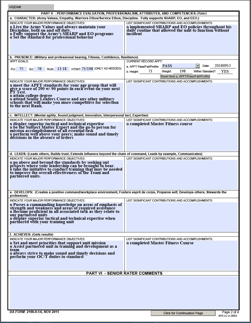Capture1  A Ncoer Support Form Example on