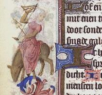 kb-woman-spinning-while-riding-pig-the-hague-mmw-10-f-50-fol-108v