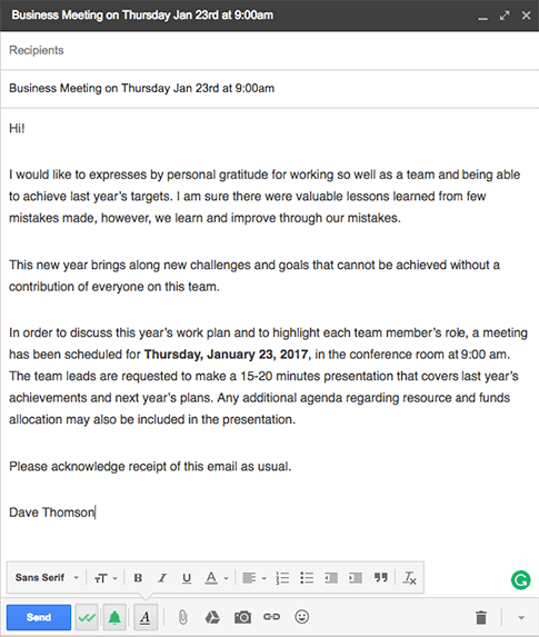 29/10/2019· there's one primary thing you should focus on when creating and using email templates: Examples Of A Good Invitation Letter For An Important Business Meeting Newoldstamp