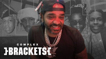 Kanye vs. Pharrell? Jim Jones Crowns the Drippiest Rapper of All Time | Complex Brackets
