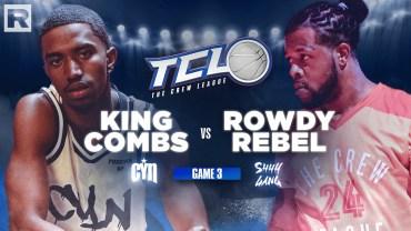Rowdy Rebel vs. King Combs – The Crew League Season 2 (Episode 3)