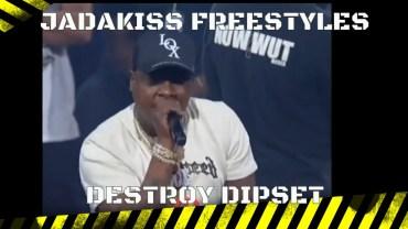 Verzuz Jadakiss Destroy Dipset with 2 Freestyles