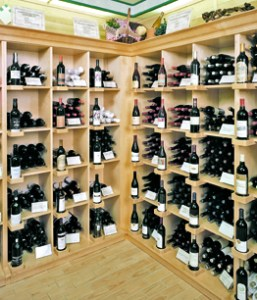 Wine and Liquor Wood Display Store Fixtures  Newood Display Fixtures Wine and Liquor